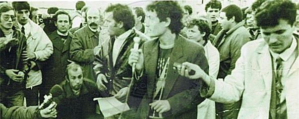 12 Dhjetor 1990, krijohet e para parti opozitare, Partia Demokratike