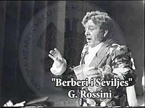 """24 Mars 1991, """"Berberi i Seviljes"""" vihet në skenën e TOB, nga një trupë aktorësh italianë"""