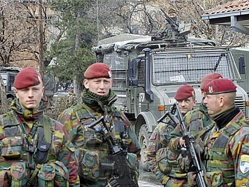 """30 March 1997, the Parliament approved the Law """"On admission to Albania, of a multinational military force"""""""