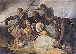"""23 Mars 1855, Çezare Kanta i shkruan De Radës: """"shqiptarët janë trashëgimtarë të Marko Boçarit"""""""