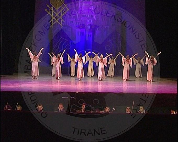 """20 March 1986, premiere in the Theatre of Opera and Ballet of the Albanian ballet """"The tenth plague of Gjergj Elez Alia"""""""