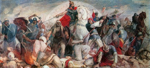 26 July 1445, took place the battle of Berat, the only military encounter lost by Skanderbeg