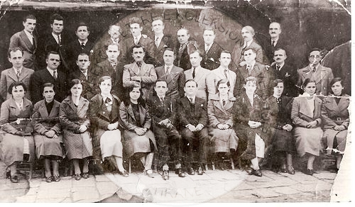 """25 July 1921, with the initiative of Avni Rustemi, in Gjirokastra was formed the """"League of teachers"""""""