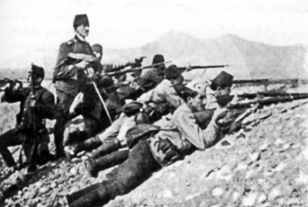26 July 1920, took place the Koplik war against the Yugoslav army