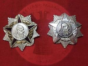 "25 July 1937, the Albanian State, decree Professor Karlo Taliavini with the Order ""Commander of the Order of Skanderbeg"""
